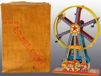Chein Co. Karussel Riesenrad THE GIANT RIDE mit Uhrwerk,...