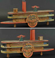 Reed Toy Co. Schiffe Schaufelradschiff Union,...