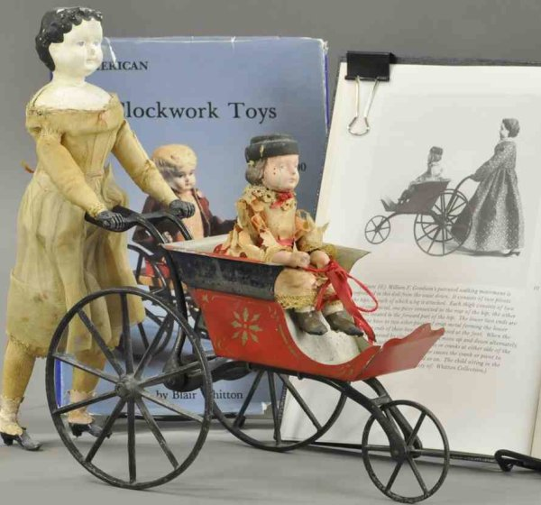 Stevens & Brown Figuren woman carriage 13