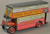 Chad Valley Co Ltd. Fahrzeuge-Busse Carrs Doppeldecker...