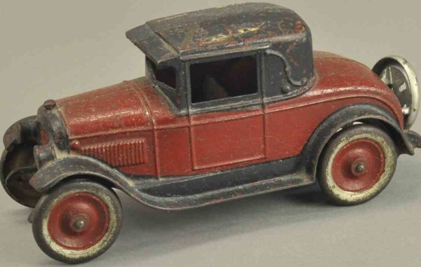 Kenton Hardware Co Fahrzeuge-Oldtimer Coupe 10 red