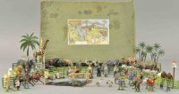 Britains Ltd. Toy Figuren Zoo und Zivilset #42 mit...