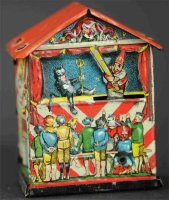 L. Georg Bierling & Co Penny Toy Puppentheater als...