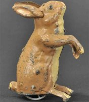 Martin Fernand Tiere Le lapin vivant. Hase mit...