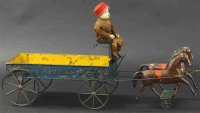 Brown George Kutschen Horse drawn wagon