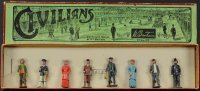 Britains Ltd. Toy Figuren Zivilisten Set #168. Acht...
