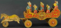 Reed Toy Co. Kutschen Band chariot wagon
