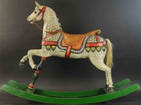 Tiere Carousel horse
